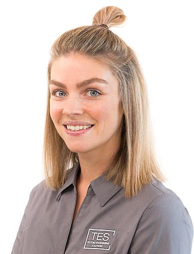 kim flanagan administration manager of telford engineering solutions