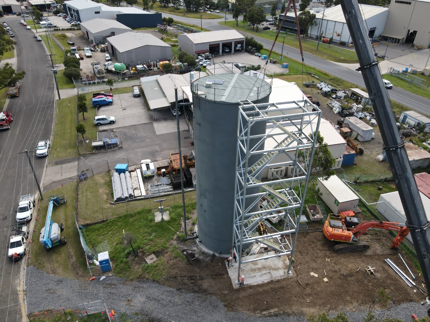 Read more about the article Water Storage Access Stair Tower