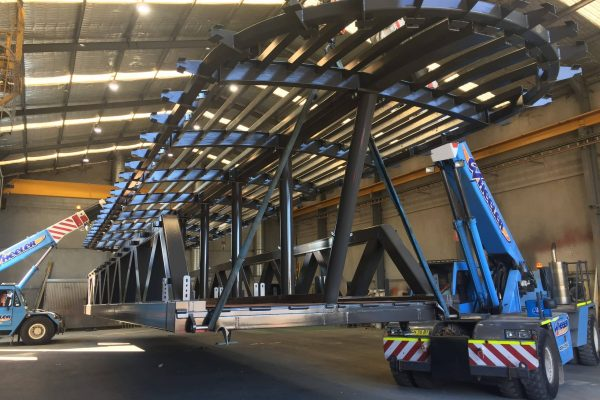 milson point gang way by telford engineering solutions